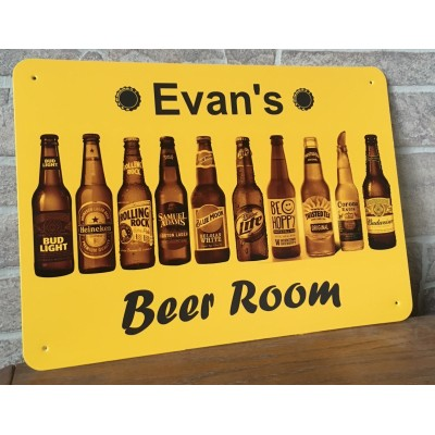 "Custom 10"" x 14"" Bar Sign"