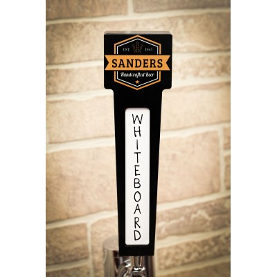 Custom Name Tap Handle with Rectangle Top