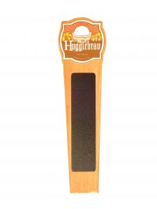 Fully custom tap handle with chalkboard